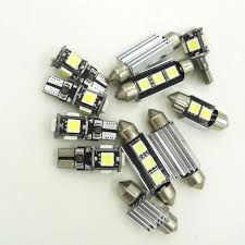 11pcs white led light bulbs interior package kit for ford f 150