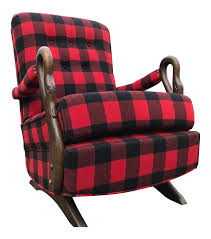 Buffalo Check Antique Gooseneck Platform Rocking Chair | Chairish Gooseneck Chair Platform Rocking Antique Monteverest Chesterfield Ay96 Jnalagora Lincoln Rocker Chair On Bonanzacom Owls Buffalo Check Chairish Mahogany Arm Pristine Collectors Weekly I Have A Rocking That Has Devils Face At The Top Has Hound Childs Upholstered Whosale 19th Century Chairs 95 For Sale 1stdibs What Is Value Of Gooseneck Rocker Mostly Upholstery Beauty Within Clinic Swan Ideas