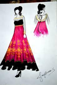 Fashion Clothing Wedding Collections Anarkali Pink Elegant Wear