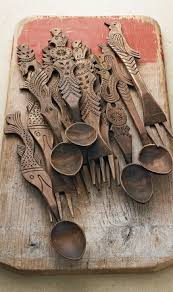 the next pattern craze what will it be wooden spoon carved