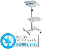 general office beamer tisch variabler projektor wagen mit 2