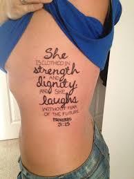 Beautiful Bible Tattoos Verse For Women