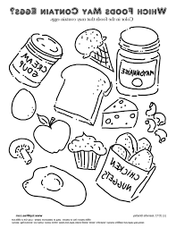 Food Coloring Book Elegant Safety Pages