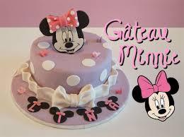 gâteau minnie pâte à sucre minnie cake cake design