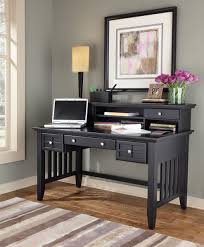 Drop Front Writing Desk by Home Styles Arts And Crafts Black Executive Desk With Hutch 5181 152