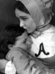 Joyce Coad and Lillian Gish in The Scarlet Letter 1926
