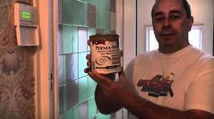 Regrouting Bathroom Tiles Video by How To Paint Tiles Youtube