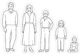 Coloring Pages Of Family Members 2 Excellent Ideas Page I Love My
