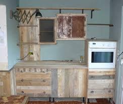 fabriquer cuisine charmant meuble de cuisine en palette avec construire sa cuisine en