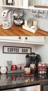 Indicate A Small Coffee Bar By Wall Quote Made From Reclaimed Wood
