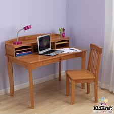 Kidkraft Easel Desk Espresso by Kidkraft Avalon Kids Desk With Hutch And Chair In Honey Set 26706