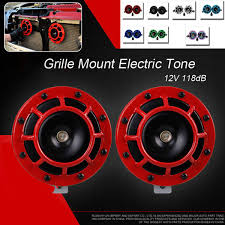 Features 12v 115db Red Electric Bull Horn Super Loud Raging Sound ... Mounted Horns Truck Bull Bars Grille Guards Push Protection Devices Or Posers 12v 115db Electric Air Horn Raging Sound Super Loud Car How To Build The Ultimate Bar Vintage Bullsteer Taxidermy Wall Haing United Pacific Industries Commercial Truck Division Silverback Chrome Stacks Curve 8 Od 5 Chevy Pickup Truck Superfly Autos Commits Suicide After Spanish Men Light Its Horns On Fire 12 Volt 4x4 Suv Cow Kit Farm I Couldnt Get A Better Picture But They Have Bull Jeep Wrangler Jk Rubicon With Your Pinterest Likes