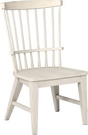 Acadian Arrow Back Windsor Side Chair Hardwood Furniture Salt Creek ...