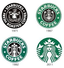 Love How Starbucks Changes Their Logo To Keep It Fresh And Updated While Still Keeping Consistent Original So There Is No Confusion As