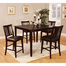 100 Dress Up Dining Room Chairs Venetian Worldwide Bridgette I 5Piece Set Espresso