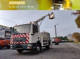 100 Truck Mounted Boom Lift MAN TGL 12180 Hoogwerker Palfinger Bison TKA17 Boom Lift Truck Snlcom