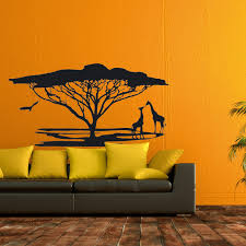 decals stickers vinyl afrika landschaft safari