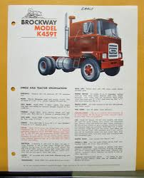 1970 Brockway Trucks Model K459T Single Axle Tractor Specification Sheet Brockway Trucks Dealer Sales Sign Vinyl Banner Shop Art Mural Large Brockway Wrecker Walk Around Page 1 Heavy Duty Trucks Antique For Sale Vintage Very Rare 1960s Trucker Camo Hat Cstktec Blog Cstk Truck Equipment Car Show Classic 1957 260 The Big Noreaster Elegant 20 Photo New Cars And Wallpaper 48 Message Board View Topic Pic Of The This Weekend Offtopic Discussion Forum 1970 Model 360t Single Axle Tractor Folder