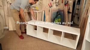 ilot cuisine a faire soi meme diy fabriquer un îlot de cuisine avec des meubles ikea vidéo