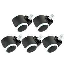5 PCS 2 Inch Diameter Snap-in Style Office Chair Rolling Rollers ... Amazoncom Opttico Office Chair Caster Wheels Replacement Black 3 Set Of 5 By Lehawk Universal Heavy Rollerblade Casters For Herman Miller Aeron 6pcs Wheel Swivel Mute Hard Soft Pu Castor For Timber Floor Pack Duty Stem Roller 3inch 1pcs 40kg 2 Improv Carpet Floors Slipstick Foot Desk No Without White Luxura Computer With Which One Should I Choose