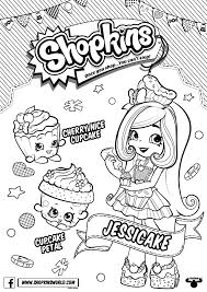 Shopkins Chef Club Season Coloring Pages