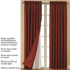 curtains eclipse curtains colin curtain panel with wooden