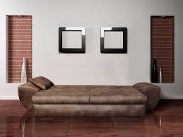 big sofa in vintage braun