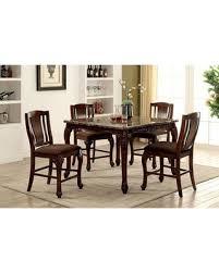 Bargains On Johannesburg Collection CM3873PT4SC 5 Piece Dining Room