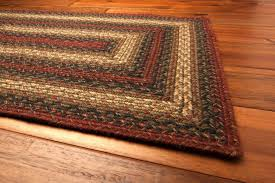 Excellent Country Style Braided Jute Rugs Checker Berry Inside Intended For Area Idea 8