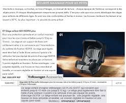 siege auto lequel choisir siège enfant origine vw ou autre lequel choisir forumgolf7 fr