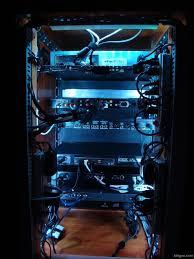led lighting for my a v rack cabinet