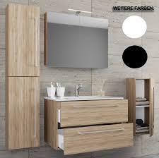 5 tlg waschplatz mit spiegelschrank badinos badezimmer
