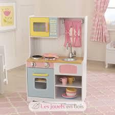 cuisine bois kidkraft kidkraft 53354 pastel country kitchen a wooden kitchen for