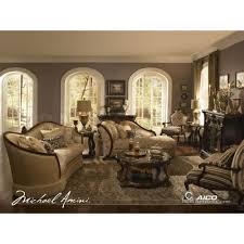 Living Room Set 1000 by 5 248 00 Palace Gates Living Room Set By Michael Amini 2 Pc D2d