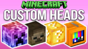 Minecraft 1 12 How To Make Custom Heads Tutorial