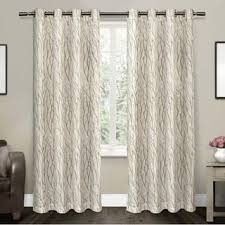 Brylane Home Grommet Curtains by Grommet Sheer Curtains For Less Overstock Com