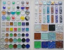 cobalt translucent glass nuggets mosaic tile shop for sale in