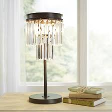 Pottery Barn Crystal Table Lamps by Exceptional Transparent White Crystal Table Lamp Interior