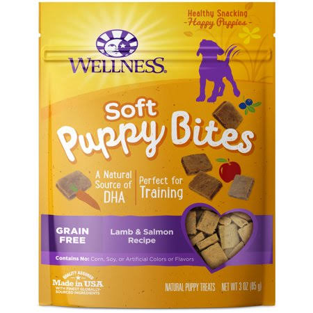 Wellness Soft Bites Puppy Treats - Lamb And Salmon, 85g