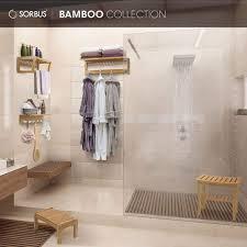 möbel wohnaccessoires duschbank holz aufbewahrung und