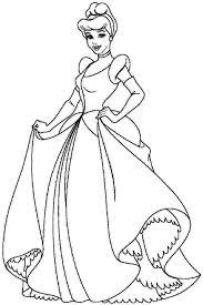 Cinderella Coloring Page 3