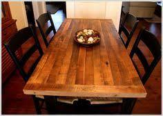 Butcher Block Kitchen Table Set
