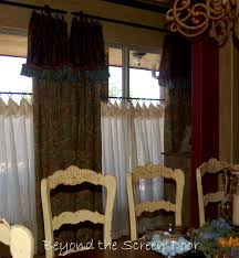 Customizing Pottery Barn Window Treatments - Sonya Hamilton Designs Kitchen Window Treatments Pottery Barn Cauroracom Just All About Ding Room Curtains And Amazon Drapes Living Dning White Roman Shades Valances Types Of Blinds Fniture Sweet Bedroom Decoration Using Brown Wicker Storage Bed Kids Desks Hpodge Decorating Gray Valance Home Design Ideas Shower Tags Shower Curtain Sets With Rugs 116488 Evelyn Bow Curtain Purchased The Floral Curtains For