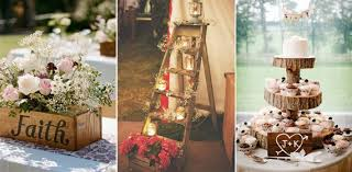 Ideas For A Rustic Wedding Decoration