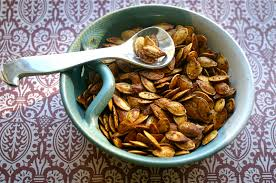 Roasting Pumpkin Seeds In The Oven Cinnamon by My Retro Kitchen Roasted Pumpkin Seeds Two Ways Savory And Sweet