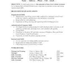 Sample Of Objective In Resume General Samples Admin For What