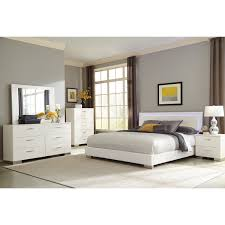 Buy Felicity Queen Low Profile Bed with LED Backlight by Coaster