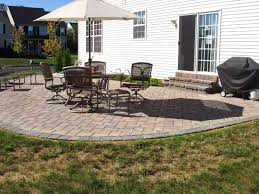 Concrete Patio Ideas Backyard Beauteous Ideas For Backyard Patios ... Backyard Concrete Patio Designs Unique Hardscape Design Ideas Portfolio Of Twin Falls Services Garden The Concept Of Concrete Patio With Fire Pits Pictures Fire Pit Sitting Wall Home Decor All Gallery Stamped Banquette Fancy For Small Backyards 39 About Remodel