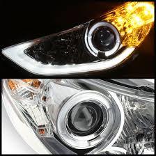 2013 hyundai elantra eye halo led projector