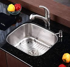 Kraus Sinks Kitchen Sink by Kraus Stainless Steel Kitchen Sinks Black Kraus Khu100 30